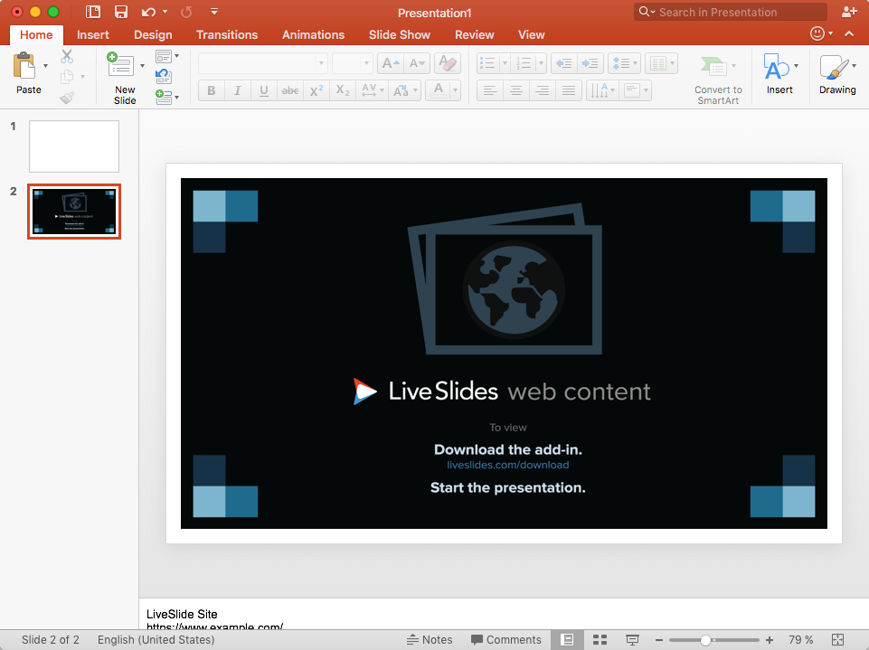 How to insert or embed YouTube into Mac PowerPoint | LiveSlides