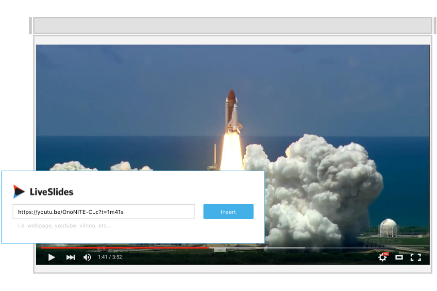 LiveSlides - Embed any website in a PowerPoint or Keynote presentation